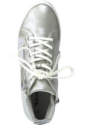 Tamaris 1-25213-20 948 Damen Silver Comb Silber Sneaker mit TOUCH-IT Sohle – Bild 5