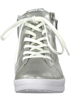 Tamaris 1-25213-20 948 Damen Silver Comb Silber Sneaker mit TOUCH-IT Sohle – Bild 6