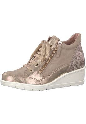 Tamaris 1-25233-20 424 Damen Shell Comb Rosa Wedge Sneaker mit TOUCH-IT Sohle – Bild 1