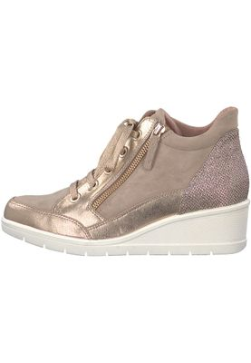Tamaris 1-25233-20 424 Damen Shell Comb Rosa Wedge Sneaker mit TOUCH-IT Sohle – Bild 3