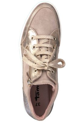 Tamaris 1-25233-20 424 Damen Shell Comb Rosa Wedge Sneaker mit TOUCH-IT Sohle – Bild 5