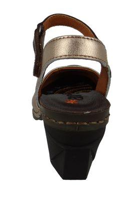 Art 1122 Damen Leder Pumps Platform Heels I Enjoy Braun Cuero – Bild 6