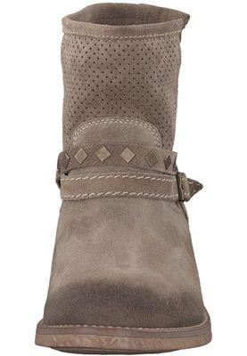 Tamaris 1-25406-20 341 Damen Taupe Braun Stiefelette Western Boots – Bild 6
