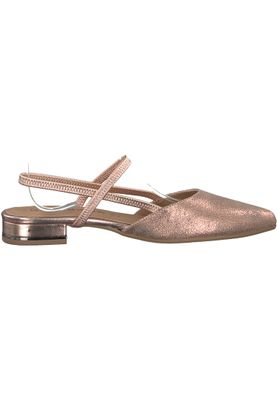 Tamaris 1-29408-20 952 Damen Rose Metallic Rosa Mary Jane Sling Pumps – Bild 2