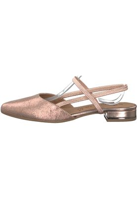 Tamaris 1-29408-20 952 Damen Rose Metallic Rosa Mary Jane Sling Pumps – Bild 3