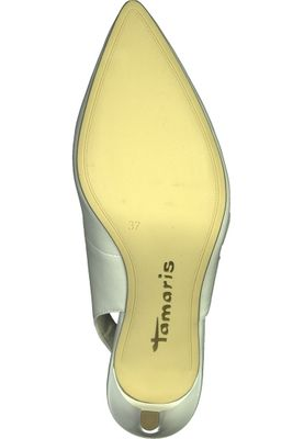 Tamaris 1-29608-20 100 Damen White Weiß Mary Jane Sling Pumps mit TOUCH-IT Sohle – Bild 4