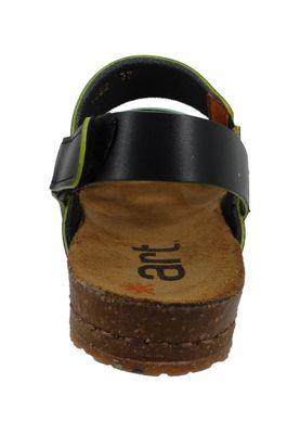 Art 1252 Damen Leder Sandale Creta Black Schwarz – Bild 3