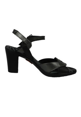 Art 0279 RIO Damen Pumps Leder Riemchenpumps Black Schwarz – Bild 5