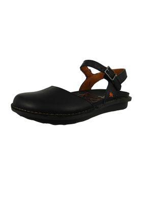 Art 1301 Ladies Leather Sandal I Explore Black Black – Bild 1