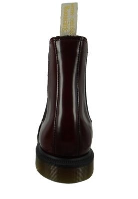 Dr. Martens Vegan Flora 24178600 Damen Cherry Red Cambridge Brush Weinrot Chelsea Boot – Bild 3