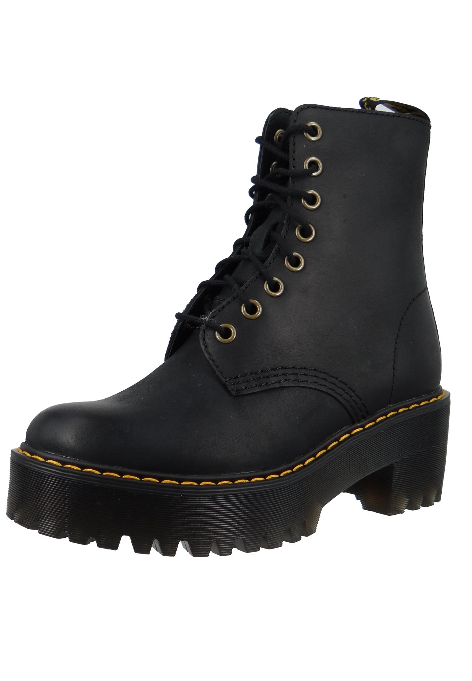 Dr. Martens Sanguine Shriver Hi 23921001 Damen Black Schwarz Ankle Boot 858d974b1a