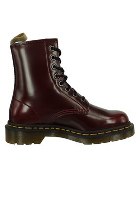 Dr. Martens 1460 Vegan 23756600 Cherry Red Cambridge Brush Weinrot Rot 8-Loch – Bild 4