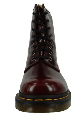 Dr. Martens 1460 Vegan 23756600 Cherry Red Cambridge Brush Weinrot Rot 8-Loch – Bild 5