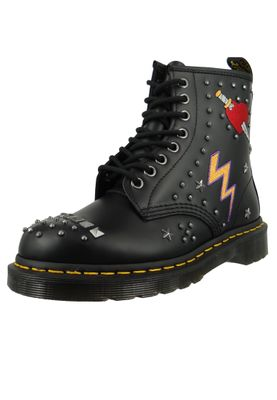 Dr. Martens 1460 24207001 Damen Rockabilly Black Smooth Schwarz – Bild 1