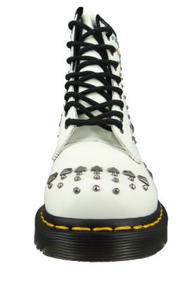 Dr. Martens 1460 24207100 Damen Rockabilly White Smooth Weiß – Bild 6