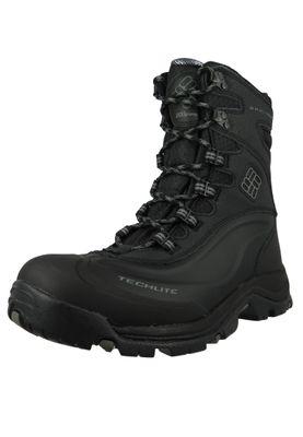 Columbia Bugaboot Plus III Omni-Heat BM1620-010 Men's Winter Boots Black Charcoal Black – Bild 1