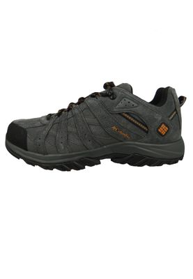 Columbia Canyon Point Leather Omni-Tech YM5418-089 Herren Trekkingschuh Dark Grey Bright Copper – Bild 3
