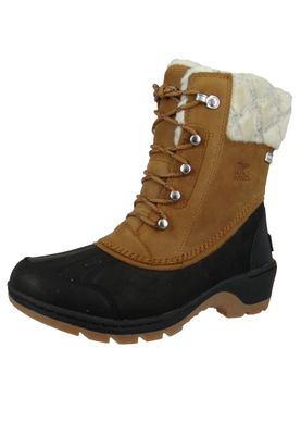 Sorel Whistler Mid NL2982-224 Damen Winter Stiefelette Camel Brown Black Braun – Bild 1