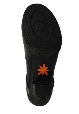 Art Schuhe Pumps Leder Riemchenpumps Harlem Black Antracita Schwarz 0933 – Bild 6