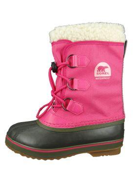 Sorel Yoot Pac Nylon NY1879-693 Kinder Winterstiefel Gefüttert Ultra Pink Alpine Tundra Rosa – Bild 2