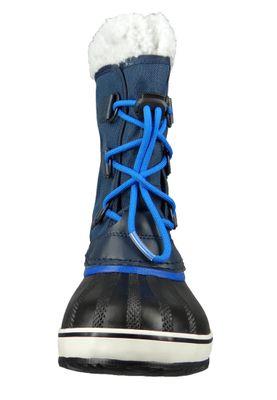 Sorel Yoot Pac Nylon NY1879-465 Kinder Winterstiefel Gefüttert Collegiate Navy Super Blue Blau – Bild 5