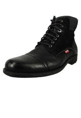Levis Fowler 228802-1933-59 Herren Ankle Boots Stiefelette Regular Black Schwarz – Bild 1