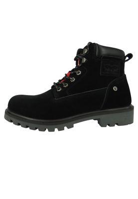 Levis Hodges 228760-1703-60 Herren Walking Boots Stiefelette Brilliant Black Schwarz – Bild 2