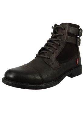 Levis Maine W 224311-872-29 Damen Ankle Boot Stiefelette Dark Brown Dunkelbraun – Bild 1