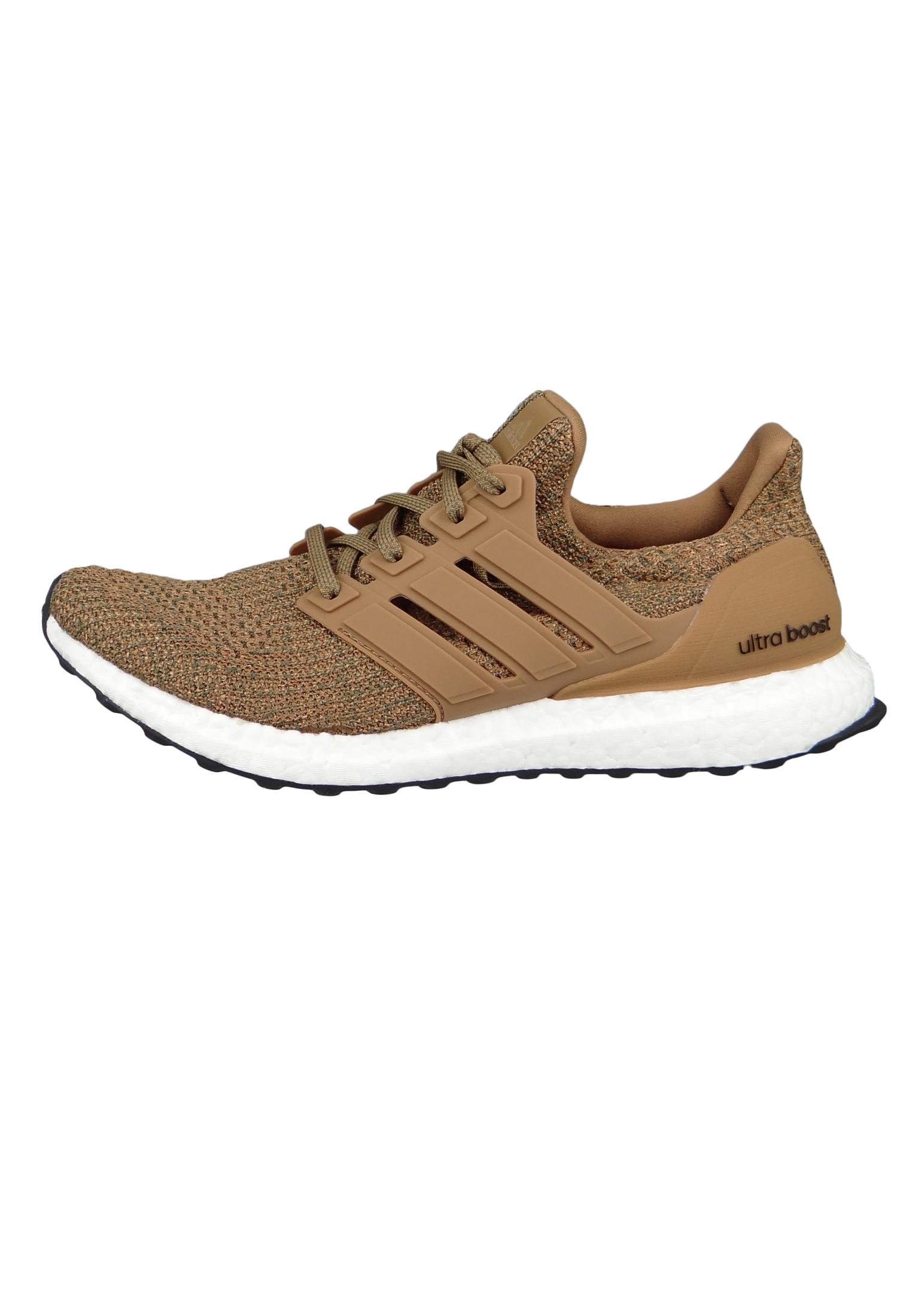 sneakers for cheap b14ab a29e9 adidas UltraBOOST CM8118 Herren Laufschuhe Running raw desert/raw  desert/base green Braun