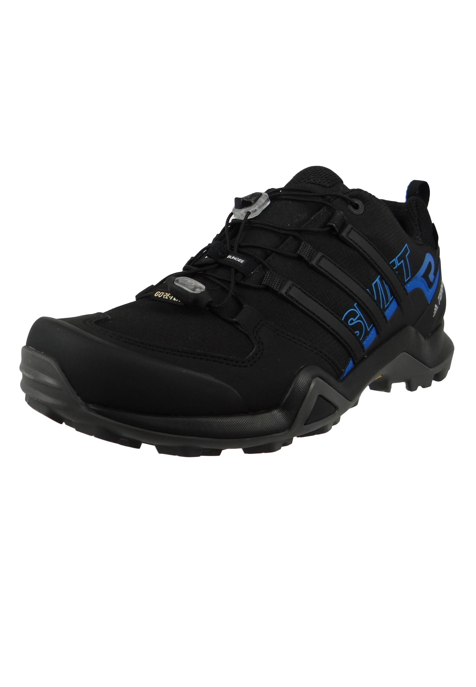 adidas TERREX SWIFT R2 GTX AC7829 Herren Outdoor Hikingschuhe core blackcore blackbright blue Schwarz