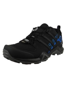 adidas TERREX SWIFT R2 GTX AC7829 Herren Outdoor Hikingschuhe core black/core black/bright blue Schwarz – Bild 1
