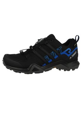 adidas TERREX SWIFT R2 GTX AC7829 Herren Outdoor Hikingschuhe core black/core black/bright blue Schwarz – Bild 2