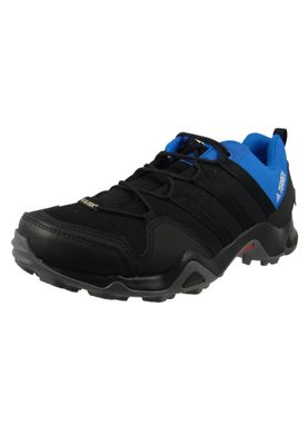 adidas TERREX AX2R GTX AC8032 Herren Hiking Outdoorschuhe Core Black/Core Black/Blue Beauty Schwarz Blau – Bild 1