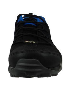 adidas TERREX AX2R GTX AC8032 Herren Hiking Outdoorschuhe Core Black/Core Black/Blue Beauty Schwarz Blau – Bild 6
