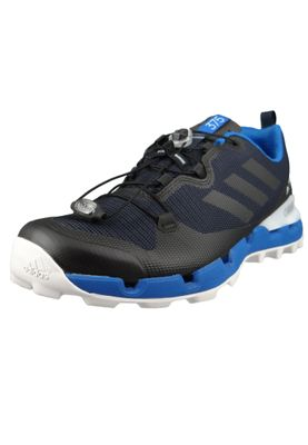 adidas TERREX FAST GTX SURROUND AQ0726 Herren Trailrunning Hikingschuhe Legend Ink/Core Black/Blue Beauty Schwarz Blau – Bild 1