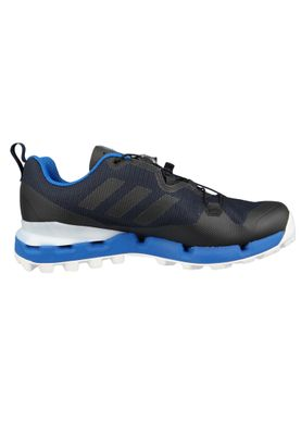 adidas TERREX FAST GTX SURROUND AQ0726 Herren Trailrunning Hikingschuhe Legend Ink/Core Black/Blue Beauty Schwarz Blau – Bild 5