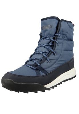 adidas TERREX Choleah Padded CP AC7847 Damen Winterstiefel Boots Trace Blue/Legend Ink/Core Black Blau – Bild 1