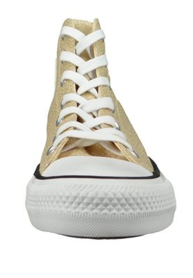 Converse Chucks Gold 561708C Chuck Taylor All Star HI Light Twine White Black – Bild 6