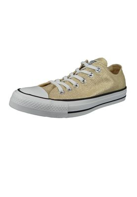 Converse Chucks Gold 561711C Chuck Taylor All Star OX LIGHT TWINE/WHITE/BLACK – Bild 1