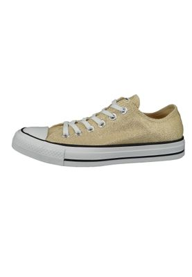 Converse Chucks Gold 561711C Chuck Taylor All Star OX LIGHT TWINE/WHITE/BLACK – Bild 3