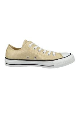 Converse Chucks Gold 561711C Chuck Taylor All Star OX LIGHT TWINE/WHITE/BLACK – Bild 5
