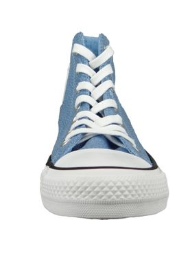 Converse Chucks Blau 561707C Chuck Taylor All Star HI Light Blue White Black – Bild 6