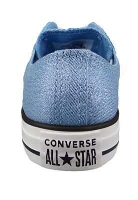Converse Chucks Blau 561710C Chuck Taylor All Star OX Light Blue White Black – Bild 3