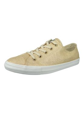 Converse Chucks 561713C Gold Chuck Taylor All Star Dainty OX Light Twine Light Twine White – Bild 1