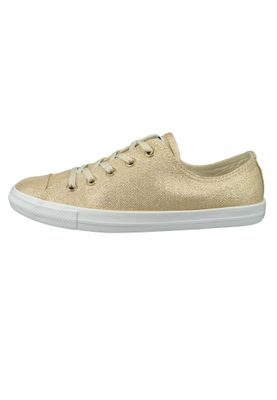 Converse Chucks 561713C Gold Chuck Taylor All Star Dainty OX Light Twine Light Twine White – Bild 2