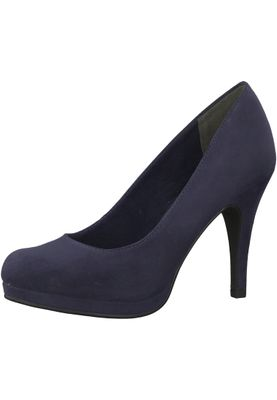 Tamaris 1-22407-21 805 Damen Navy Blau Plateau Pumps High-Heel – Bild 1