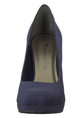Tamaris 1-22407-21 805 Damen Navy Blau Plateau Pumps High-Heel – Bild 2