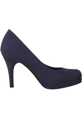Tamaris 1-22407-21 805 Damen Navy Blau Plateau Pumps High-Heel – Bild 3