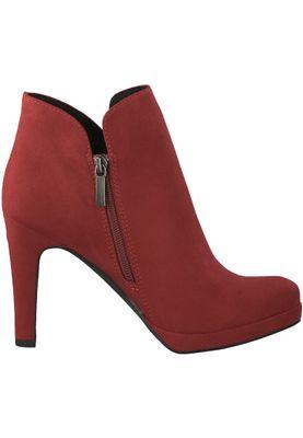 Tamaris 1-25316-21 515 Damen Lipstick Rot Stiefelette High Heeled Ankle Boot mit TOUCH-IT Sohle – Bild 2