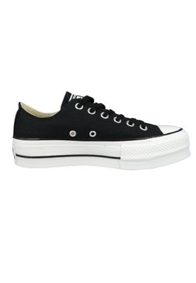 Converse Chucks Plateau Black 560250C Chuck Taylor All Star Lift - OX Black White White – Bild 4